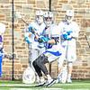 Hamilton College defender John Ennis (42)<br /> <br /> 3/20/19 4:07:39 PM Men's Lacrosse: Nazareth College v Hamilton College, at Steuben Field, Hamilton College, Clinton, NY<br /> <br /> Final: Nazareth 12   Hamilton 17<br /> <br /> Photo by Josh McKee