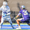 Hamilton College attacker Clay McCollum (18)<br /> <br /> 3/20/19 4:11:56 PM Men's Lacrosse: Nazareth College v Hamilton College, at Steuben Field, Hamilton College, Clinton, NY<br /> <br /> Final: Nazareth 12   Hamilton 17<br /> <br /> Photo by Josh McKee