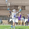 Hamilton College midfielder Chris Conley (4), Celebration<br /> <br /> 3/20/19 4:27:48 PM Men's Lacrosse: Nazareth College v Hamilton College, at Steuben Field, Hamilton College, Clinton, NY<br /> <br /> Final: Nazareth 12   Hamilton 17<br /> <br /> Photo by Josh McKee