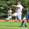 Hamilton College M Rowan Myers (3)<br /> <br /> 9/22/18 2:20:15 PM Men's Soccer:  #21 Connecticut College vs Hamilton College, at Love Field, Hamilton College, Clinton NY<br /> <br /> Final:  Conn 1    Hamilton 0<br /> <br /> Photo by Josh McKee
