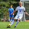 Hamilton College B Luke Eckels (16)<br /> <br /> 9/22/18 2:17:44 PM Men's Soccer:  #21 Connecticut College vs Hamilton College, at Love Field, Hamilton College, Clinton NY<br /> <br /> Final:  Conn 1    Hamilton 0<br /> <br /> Photo by Josh McKee