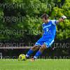 Hamilton College goalkeeper Thomas Benson (0)<br /> <br /> 9/22/18 1:48:21 PM Men's Soccer:  #21 Connecticut College vs Hamilton College, at Love Field, Hamilton College, Clinton NY<br /> <br /> Final:  Conn 1    Hamilton 0<br /> <br /> Photo by Josh McKee
