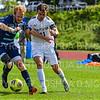 Hamilton College forward Matt Casadei (11)<br /> <br /> 9/22/18 2:17:33 PM Men's Soccer:  #21 Connecticut College vs Hamilton College, at Love Field, Hamilton College, Clinton NY<br /> <br /> Final:  Conn 1    Hamilton 0<br /> <br /> Photo by Josh McKee