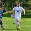 Hamilton College M Matt Jordan (13)<br /> <br /> 9/22/18 2:20:09 PM Men's Soccer:  #21 Connecticut College vs Hamilton College, at Love Field, Hamilton College, Clinton NY<br /> <br /> Final:  Conn 1    Hamilton 0<br /> <br /> Photo by Josh McKee