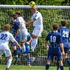 Hamilton College B Luke Eckels (16)<br /> <br /> 9/22/18 2:24:32 PM Men's Soccer:  #21 Connecticut College vs Hamilton College, at Love Field, Hamilton College, Clinton NY<br /> <br /> Final:  Conn 1    Hamilton 0<br /> <br /> Photo by Josh McKee