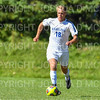 Hamilton College B Jack Sheehan (18)<br /> <br /> 9/23/18 1:48:48 PM Men's Soccer:  Middlebury College vs Hamilton College, at Love Field, Hamilton College, Clinton NY<br /> <br /> Final:  Middlebury 2   Hamilton 1 2OT<br /> <br /> Photo by Josh McKee
