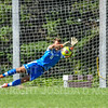 Hamilton College goalkeeper Thomas Benson (0)<br /> <br /> 9/23/18 1:49:46 PM Men's Soccer:  Middlebury College vs Hamilton College, at Love Field, Hamilton College, Clinton NY<br /> <br /> Final:  Middlebury 2   Hamilton 1 2OT<br /> <br /> Photo by Josh McKee