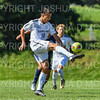 Hamilton College forward Jefri Schmidt (10)<br /> <br /> 9/23/18 1:50:46 PM Men's Soccer:  Middlebury College vs Hamilton College, at Love Field, Hamilton College, Clinton NY<br /> <br /> Final:  Middlebury 2   Hamilton 1 2OT<br /> <br /> Photo by Josh McKee