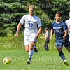 Hamilton College B Jack Sheehan (18)<br /> <br /> 9/23/18 1:48:50 PM Men's Soccer:  Middlebury College vs Hamilton College, at Love Field, Hamilton College, Clinton NY<br /> <br /> Final:  Middlebury 2   Hamilton 1 2OT<br /> <br /> Photo by Josh McKee