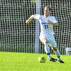 Hamilton College M Milo Donovan (21)<br /> <br /> 10/9/18 4:24:28 PM Men's Soccer: SUNY Polytechnic v Hamilton College, at Love Field, Hamilton College, Clinton, NY<br /> <br /> Final: SUNY Poly 0   Hamilton 1<br /> <br /> Photo by Josh McKee
