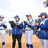 Hamilton College head coach Stephanie Hartquist, Team<br /> <br /> 3/14/19 5:03:09 PM Houghton College v Hamilton College, at Loop Road Softball/Baseball Complex, Hamilton College, Clinton, NY<br /> <br /> Final:  Houghton 2  Hamilton 10 (6 innings)<br /> <br /> Photo by Josh McKee