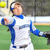 Hamilton College INF Helen Lin (11)<br /> <br /> 3/14/19 5:04:58 PM Houghton College v Hamilton College, at Loop Road Softball/Baseball Complex, Hamilton College, Clinton, NY<br /> <br /> Final:  Houghton 2  Hamilton 10 (6 innings)<br /> <br /> Photo by Josh McKee