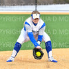 Hamilton College INF Kendall Searcy (20)<br /> <br /> 3/14/19 5:04:32 PM Houghton College v Hamilton College, at Loop Road Softball/Baseball Complex, Hamilton College, Clinton, NY<br /> <br /> Final:  Houghton 2  Hamilton 10 (6 innings)<br /> <br /> Photo by Josh McKee