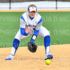 Hamilton College INF Kendall Searcy (20)<br /> <br /> 3/14/19 5:04:38 PM Houghton College v Hamilton College, at Loop Road Softball/Baseball Complex, Hamilton College, Clinton, NY<br /> <br /> Final:  Houghton 2  Hamilton 10 (6 innings)<br /> <br /> Photo by Josh McKee