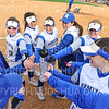Hamilton College head coach Stephanie Hartquist, Team<br /> <br /> 3/14/19 5:03:21 PM Houghton College v Hamilton College, at Loop Road Softball/Baseball Complex, Hamilton College, Clinton, NY<br /> <br /> Final:  Houghton 2  Hamilton 10 (6 innings)<br /> <br /> Photo by Josh McKee