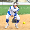 Hamilton College INF Helen Lin (11)<br /> <br /> 3/14/19 5:04:48 PM Houghton College v Hamilton College, at Loop Road Softball/Baseball Complex, Hamilton College, Clinton, NY<br /> <br /> Final:  Houghton 2  Hamilton 10 (6 innings)<br /> <br /> Photo by Josh McKee