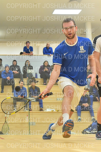 1/11/19 6:20:41 PM Squash:  Franklin and Marshall College v Hamilton College at Little Squash Center, Hamilton College, Clinton, NY<br /> <br /> Photo by Josh McKee