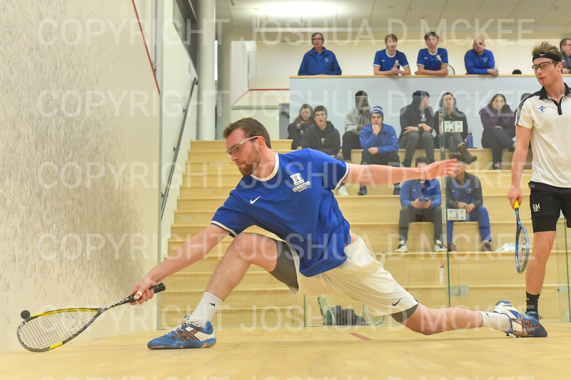 1/11/19 6:22:39 PM Squash:  Franklin and Marshall College v Hamilton College at Little Squash Center, Hamilton College, Clinton, NY<br /> <br /> Photo by Josh McKee