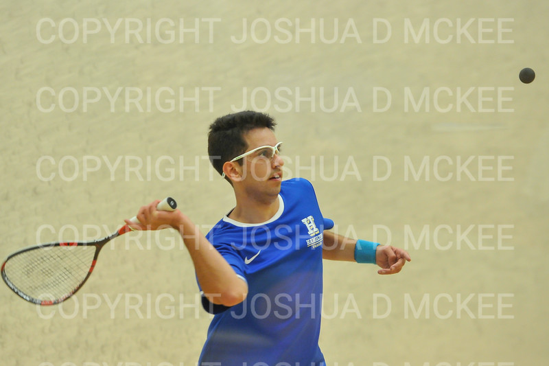 1/11/19 7:38:10 PM Squash:  Franklin and Marshall College v Hamilton College at Little Squash Center, Hamilton College, Clinton, NY<br /> <br /> Photo by Josh McKee