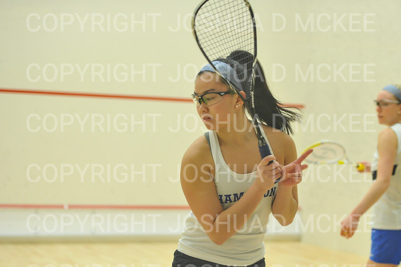 1/11/19 6:48:26 PM Squash:  Franklin and Marshall College v Hamilton College at Little Squash Center, Hamilton College, Clinton, NY<br /> <br /> Photo by Josh McKee