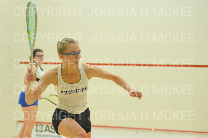 1/11/19 6:37:14 PM Squash:  Franklin and Marshall College v Hamilton College at Little Squash Center, Hamilton College, Clinton, NY<br /> <br /> Photo by Josh McKee