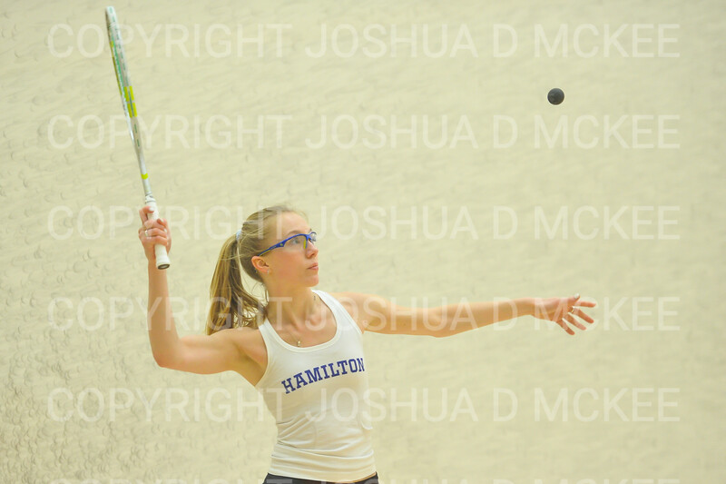 1/11/19 6:36:41 PM Squash:  Franklin and Marshall College v Hamilton College at Little Squash Center, Hamilton College, Clinton, NY<br /> <br /> Photo by Josh McKee