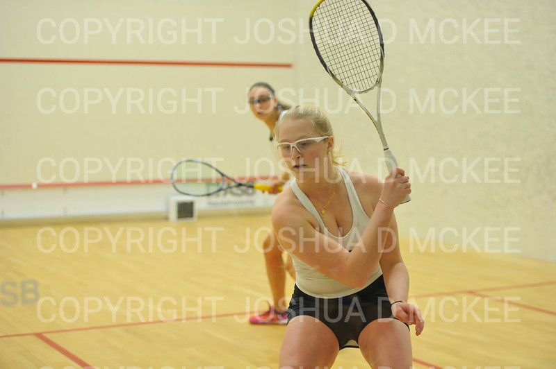 1/11/19 7:50:23 PM Squash:  Franklin and Marshall College v Hamilton College at Little Squash Center, Hamilton College, Clinton, NY<br /> <br /> Photo by Josh McKee