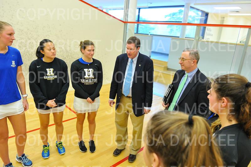 11/18/18 2:51:51 PM Squash:  Williams College v Hamilton College at Little Squash Center, Hamilton College, Clinton, NY<br /> <br /> Photo by Josh McKee