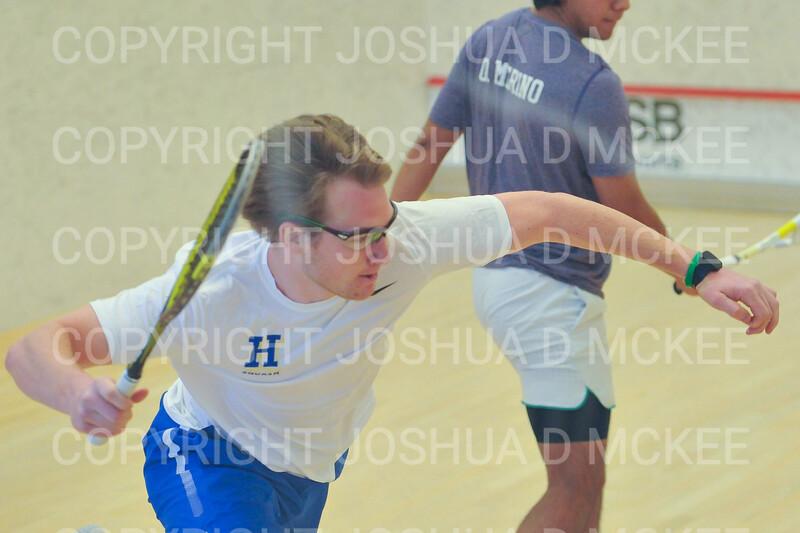 11/18/18 1:42:39 PM Squash:  Williams College v Hamilton College at Little Squash Center, Hamilton College, Clinton, NY<br /> <br /> Photo by Josh McKee
