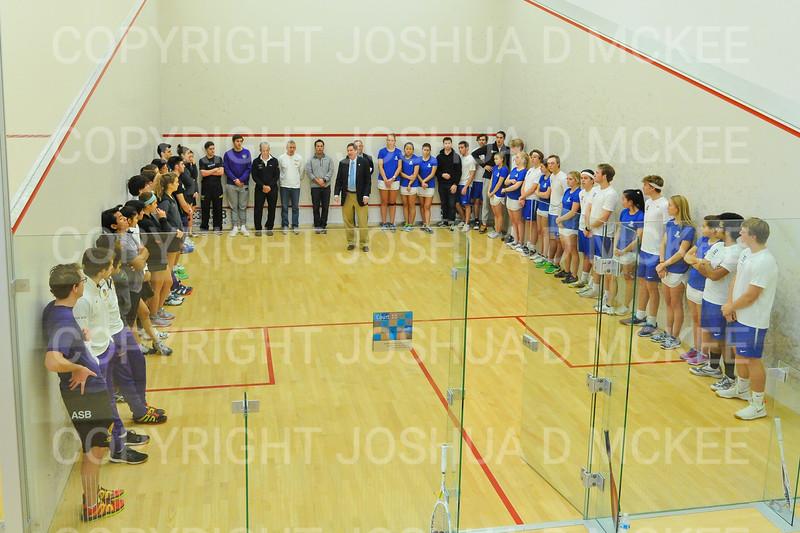 11/18/18 12:59:35 PM Squash:  Williams College v Hamilton College at Little Squash Center, Hamilton College, Clinton, NY<br /> <br /> Photo by Josh McKee