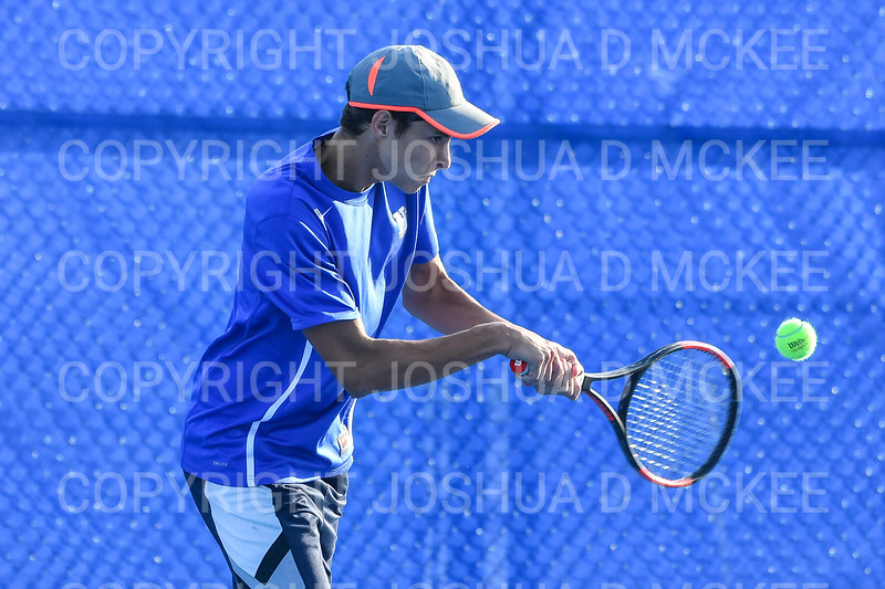9/21/18 5:19:19 PM Tennis: Practice held at the Tietje Family Tennis Center, Hamilton College, Clinton, NY<br /> <br /> Photo by Josh McKee
