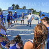 Hamilton College Head Coach Matt Brisotti, Hamilton College Assistant Coach Hannah Fleckenstein, Team<br /> <br /> 9/21/18 4:59:57 PM Tennis: Practice held at the Tietje Family Tennis Center, Hamilton College, Clinton, NY<br /> <br /> Photo by Josh McKee