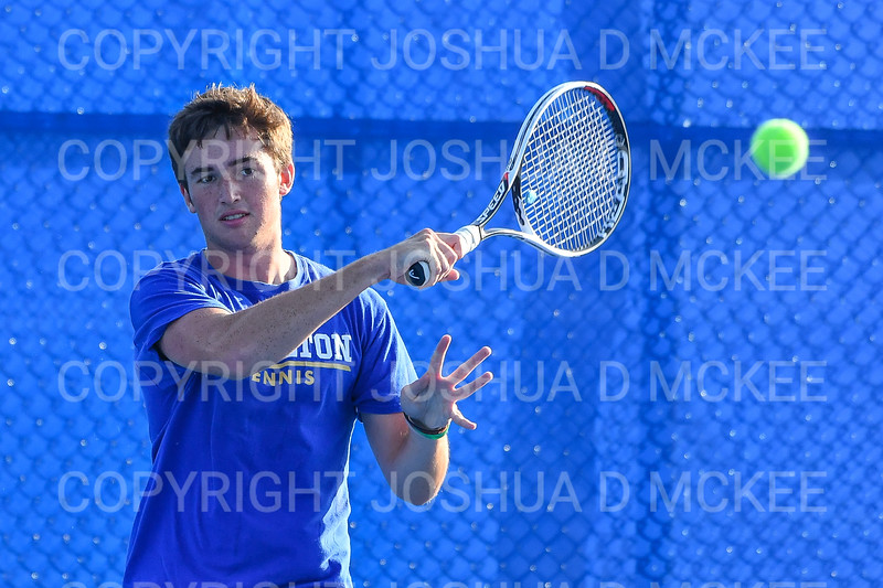 9/21/18 5:10:43 PM Tennis: Practice held at the Tietje Family Tennis Center, Hamilton College, Clinton, NY<br /> <br /> Photo by Josh McKee