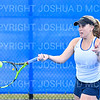 4/9/19 5:17:36 PM Hamilton College Men's and Women's Tennis Practice at the Tietje Family Tennis Center, Hamilton College, Clinton, NY<br /> <br /> Photo by Josh McKee