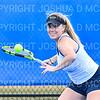 4/9/19 5:17:32 PM Hamilton College Men's and Women's Tennis Practice at the Tietje Family Tennis Center, Hamilton College, Clinton, NY<br /> <br /> Photo by Josh McKee