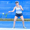 4/9/19 5:17:29 PM Hamilton College Men's and Women's Tennis Practice at the Tietje Family Tennis Center, Hamilton College, Clinton, NY<br /> <br /> Photo by Josh McKee