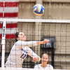 Hamilton College setter Jo Dine (12)<br /> <br /> 10/5/18 6:59:02 PM Women's Volleyball:  Bates College v Hamilton College in the Margaret Bundy Scott Field House at Hamilton College, Clinton, NY<br /> <br /> Final: Bates 3  Hamilton 0<br /> <br /> Photo by Josh McKee