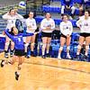 Hamilton College L/DS Nikki Matsuoka (2)<br /> <br /> 10/5/18 7:10:57 PM Women's Volleyball:  Bates College v Hamilton College in the Margaret Bundy Scott Field House at Hamilton College, Clinton, NY<br /> <br /> Final: Bates 3  Hamilton 0<br /> <br /> Photo by Josh McKee