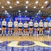 Team<br /> <br /> 9/26/18 7:01:19 PM Women's Volleyball:  SUNY Geneseo vs Hamilton College, at Margaret Bundy Scott Field House, Hamilton College, Clinton, NY<br /> <br /> Final: SUNY Geneseo 0  Hamilton 3<br /> <br /> Photo by Josh McKee