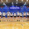 Team<br /> <br /> 9/26/18 6:59:34 PM Women's Volleyball:  SUNY Geneseo vs Hamilton College, at Margaret Bundy Scott Field House, Hamilton College, Clinton, NY<br /> <br /> Final: SUNY Geneseo 0  Hamilton 3<br /> <br /> Photo by Josh McKee
