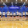 Team<br /> <br /> 9/26/18 6:59:34 PM Women's Volleyball:  SUNY Geneseo vs Hamilton College, at Margaret Bundy Scott Field House, Hamilton College, Clinton, NY<br /> <br /> Final: SUNY Geneseo 0  Hamilton 3<br /> <br /> Photo by Josh McKee