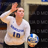 Hamilton College setter Meghan Wilkinson (10)<br /> <br /> 9/26/18 7:05:43 PM Women's Volleyball:  SUNY Geneseo vs Hamilton College, at Margaret Bundy Scott Field House, Hamilton College, Clinton, NY<br /> <br /> Final: SUNY Geneseo 0  Hamilton 3<br /> <br /> Photo by Josh McKee