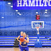 Hamilton College guard Kendall Rallins (10)<br /> <br /> 1/12/19 3:10:17 PM Women's Basketball:  Connecticut College v Hamilton College at Margaret Bundy Scott Field House, Hamilton College, Clinton, NY<br /> <br /> Final:  Conn  62  Hamilton 53<br /> <br /> Photo by Josh McKee