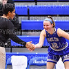 Hamilton College head coach Mahogany Green,Hamilton College forward Liz Arnold (12)<br /> <br /> 1/12/19 3:06:47 PM Women's Basketball:  Connecticut College v Hamilton College at Margaret Bundy Scott Field House, Hamilton College, Clinton, NY<br /> <br /> Final:  Conn  62  Hamilton 53<br /> <br /> Photo by Josh McKee