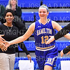 Hamilton College forward Liz Arnold (12)<br /> <br /> 1/12/19 3:06:48 PM Women's Basketball:  Connecticut College v Hamilton College at Margaret Bundy Scott Field House, Hamilton College, Clinton, NY<br /> <br /> Final:  Conn  62  Hamilton 53<br /> <br /> Photo by Josh McKee