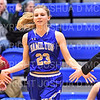 Hamilton College guard Marie Steiner (23)<br /> <br /> 1/12/19 3:06:35 PM Women's Basketball:  Connecticut College v Hamilton College at Margaret Bundy Scott Field House, Hamilton College, Clinton, NY<br /> <br /> Final:  Conn  62  Hamilton 53<br /> <br /> Photo by Josh McKee