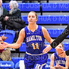 Hamilton College guard Carly O'Hern (11)<br /> <br /> 1/12/19 3:06:28 PM Women's Basketball:  Connecticut College v Hamilton College at Margaret Bundy Scott Field House, Hamilton College, Clinton, NY<br /> <br /> Final:  Conn  62  Hamilton 53<br /> <br /> Photo by Josh McKee