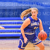 Hamilton College guard Carly O'Hern (11)<br /> <br /> 1/12/19 3:11:17 PM Women's Basketball:  Connecticut College v Hamilton College at Margaret Bundy Scott Field House, Hamilton College, Clinton, NY<br /> <br /> Final:  Conn  62  Hamilton 53<br /> <br /> Photo by Josh McKee