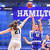 Hamilton College guard Mackenzie Aldridge (22)<br /> <br /> 1/12/19 3:14:51 PM Women's Basketball:  Connecticut College v Hamilton College at Margaret Bundy Scott Field House, Hamilton College, Clinton, NY<br /> <br /> Final:  Conn  62  Hamilton 53<br /> <br /> Photo by Josh McKee