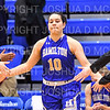 Hamilton College guard Kendall Rallins (10)<br /> <br /> 1/12/19 3:06:21 PM Women's Basketball:  Connecticut College v Hamilton College at Margaret Bundy Scott Field House, Hamilton College, Clinton, NY<br /> <br /> Final:  Conn  62  Hamilton 53<br /> <br /> Photo by Josh McKee